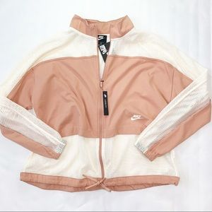 Nike Sportswear Mesh Windrunner Zip Bomber Jacket